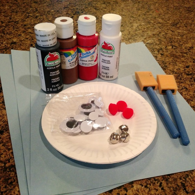 Reindeer Day--fun crafts and activities to do with the kids centered around reindeer