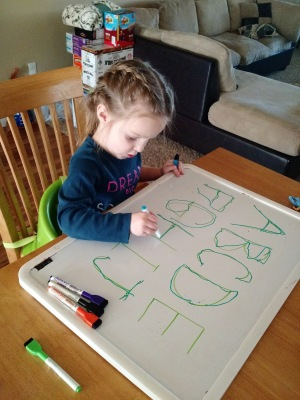 12 Fun Ways to Teach Your Child the Alphabet--these activities feel more like playing than learning so they'll want to do them!