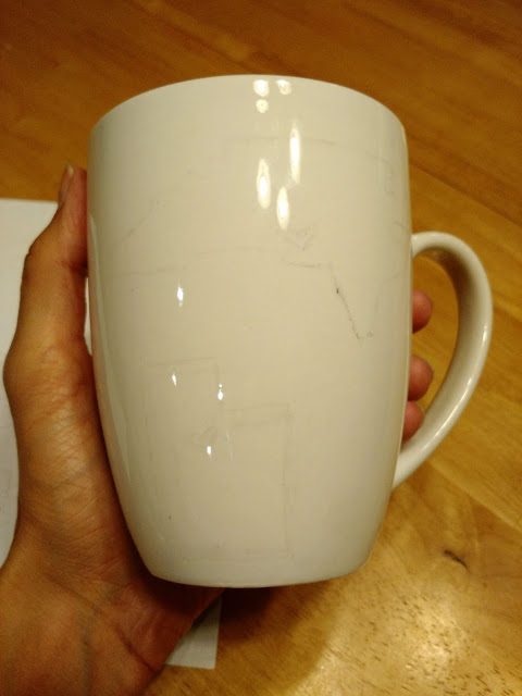DIY Sharpie Mug--These mugs make the perfect gift for any occasion (or just because you really want a cute mug)!
