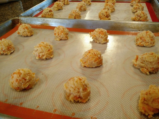 Carrot Cookies--These cookies are soft, puffy and slightly sweet making them the perfect little treat.
