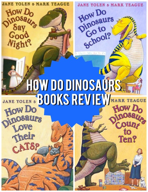 How Do Dinosaurs Books Review