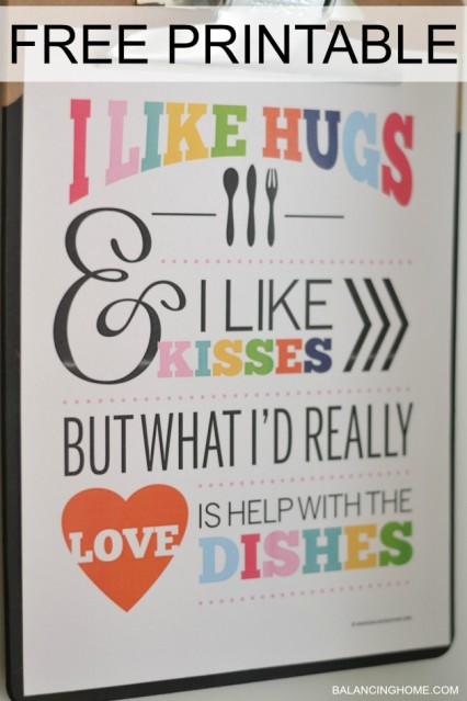 My Favorite {Free} Kitchen Printables