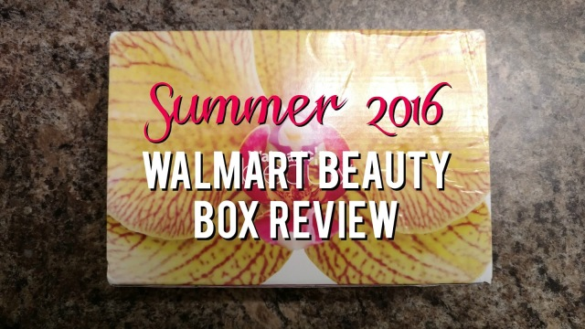 Summer 2016 Walmart Beauty Box Review--Is it worth $5?