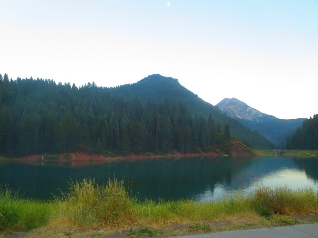 American Fork Canyon: Granite Flats Campground--a review of this beautiful campground in American Fork Canyon, UT.