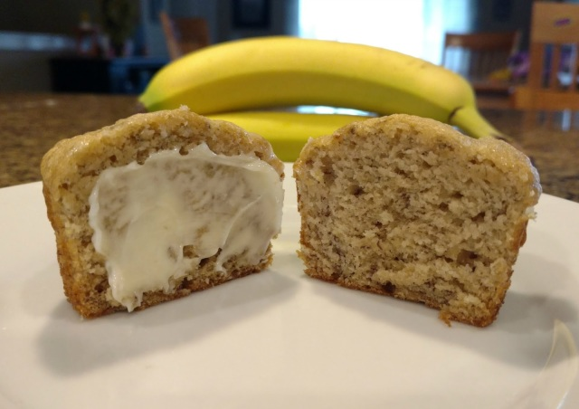So moist and so full of banana flavor!  This will become your go-to banana bread recipe!