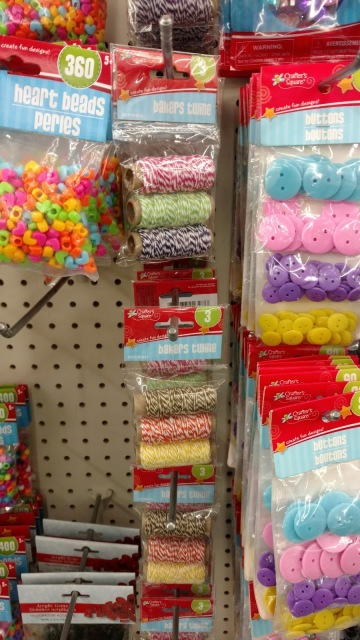 A list of the top craft supplies to buy from the dollar store to save you money!