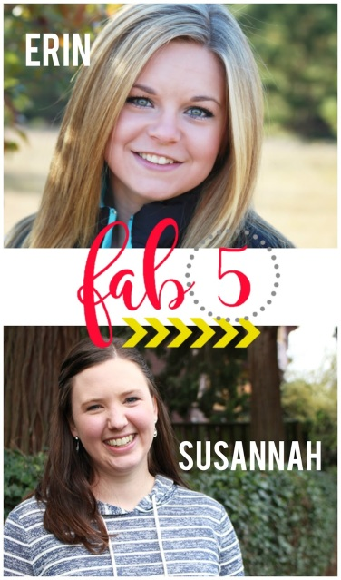 Fab 5: Erin and Susannah