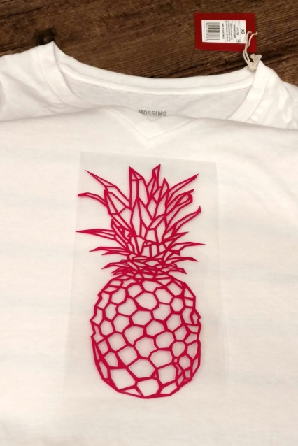 Creating your own custom t-shirts is made easy with this tutorial on how to use smooth heat transfer vinyl.