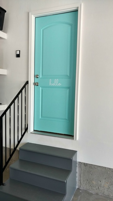 Easily update your garage door entrance to instantly improve the look!