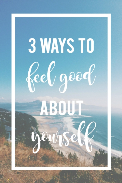 We are our own worst critics and focusing on our flaws isn't going to promote a healthy self image.  These are 3 things you can do to feel good about yourself.