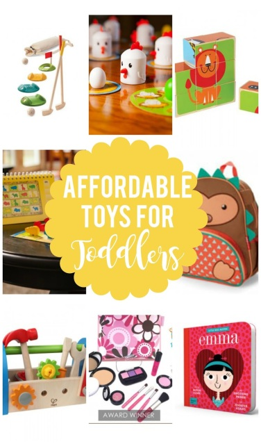 Affordable Toys for Toddlers (ages 2-5)