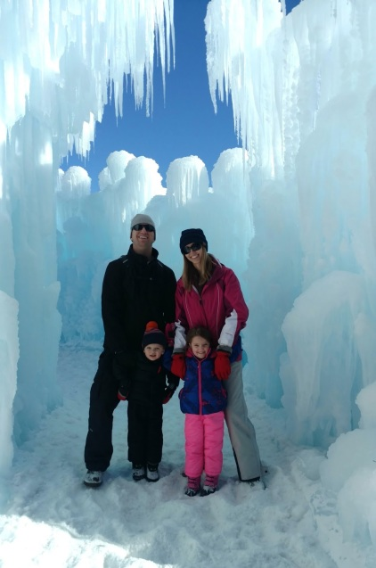 The Ice Castles in Midway, UT are breathtaking and absolutely incredible to see in person!  Read more about how to plan your visit.