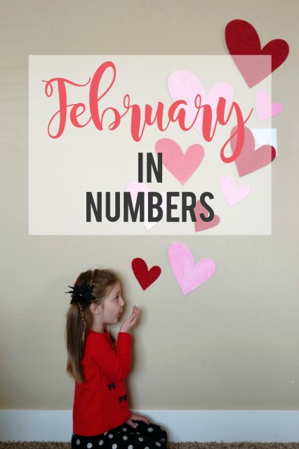 February in Numbers: a unique way to show a month in review (Link up with Shoes to Shiraz)