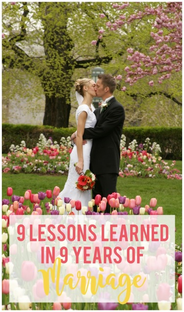 9 lessons about love, parenting, marriage and life after 9 years of marriage