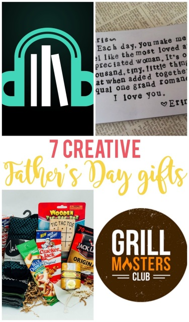 If you're tired of giving the same old gifts for Father's Day, click through to find 7 creative ideas he's sure to love.
