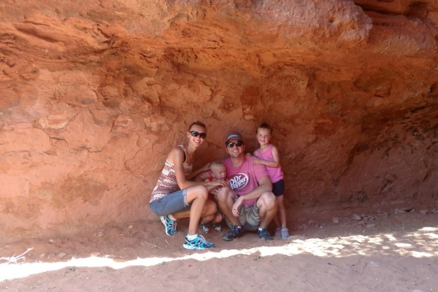 Pioneer Park in St. George, UT is the perfect family friendly hiking spot for all ages.